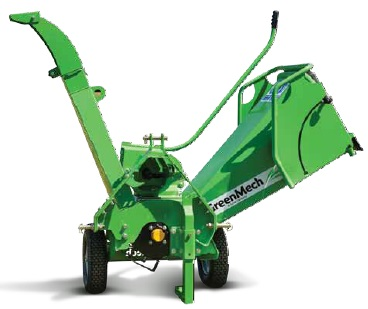 GreenMech Wood Chipper and shredders