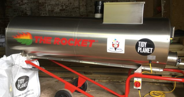 TIDY PLANET A500 ROCKET COMPOSTER