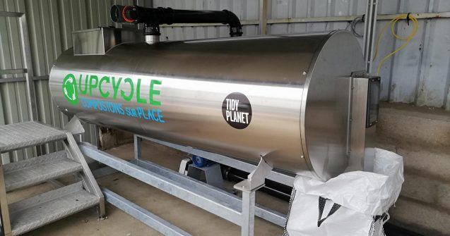 TIDY PLANET A700 ROCKET COMPOSTER