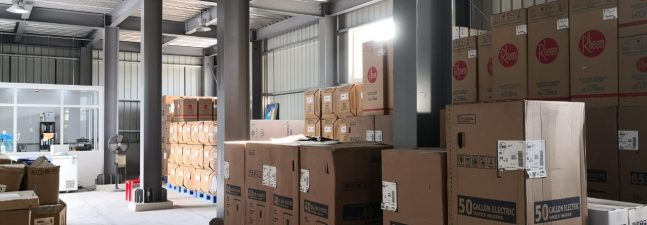 Expansion of Warehouse Capacity